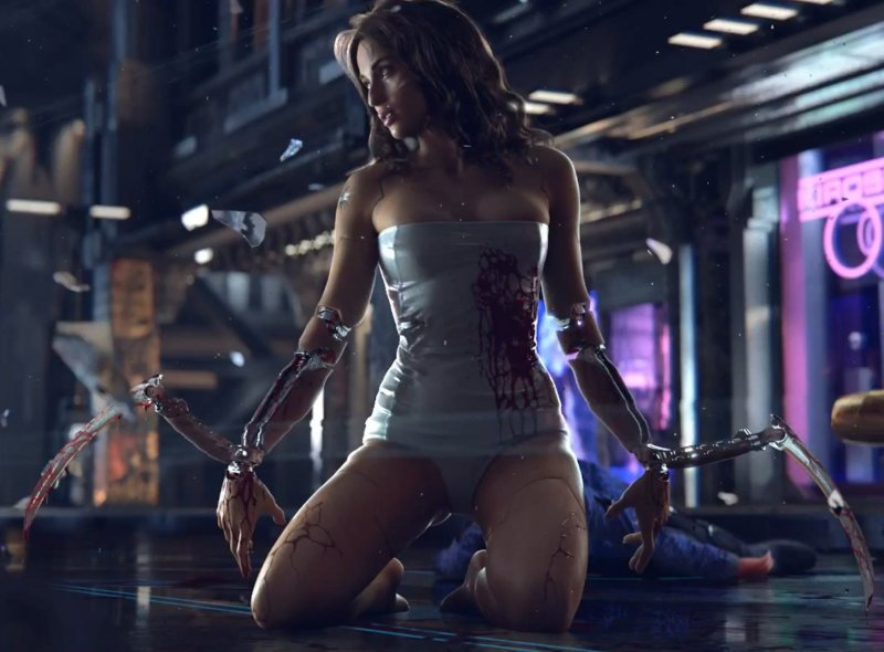 Escenas er贸ticas de Cyberpunk 2077