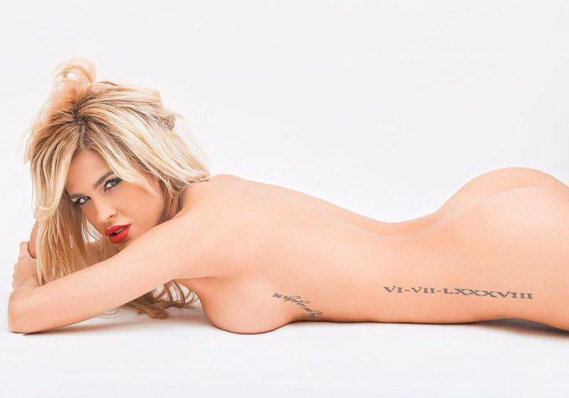 Ylenia desnuda